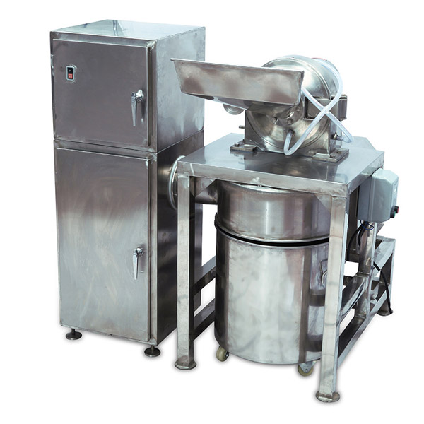 powder grinding machine with water cooling and dust collecting system (2)