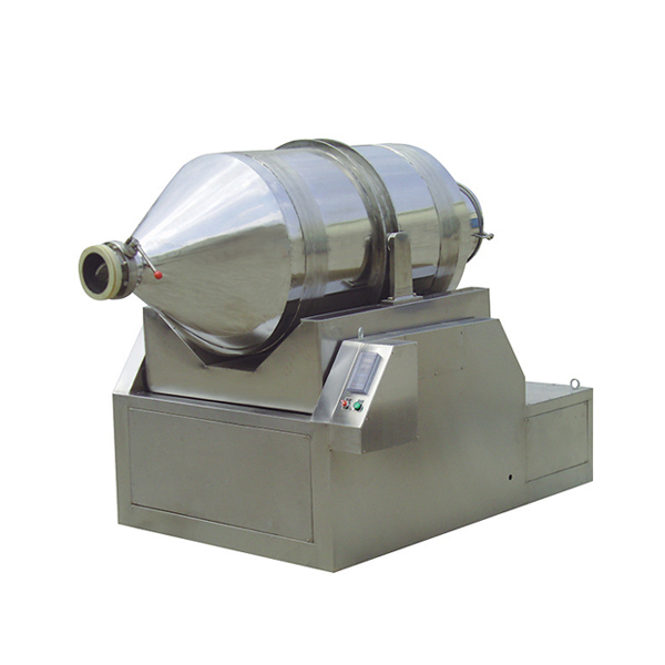 Two-Dimensional Motion Powder Mixer